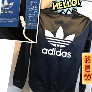 Adidas Men's Trf Crew Long sleeve Large shirt